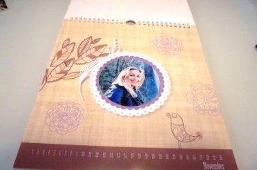 Fotokalender selbst gestalten mit kreativen Schablonen