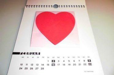 Kalender selber machen mit DVDs / CDs