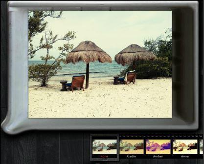 Filtermöglichkeiten von pixlr.com o-matic