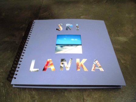 Fotoalbum gestalten mit Foto-Buchstaben