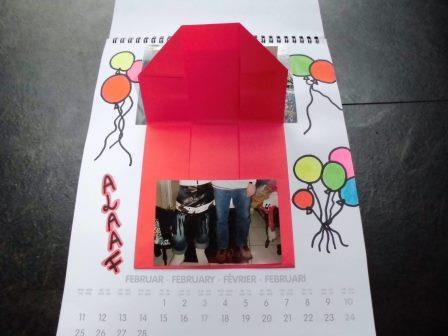 Kalenderseite Karneval - Helau und Alaaf!