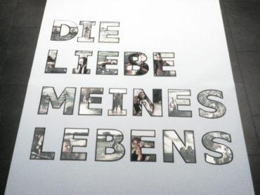 Bild aus Fotobuchstaben