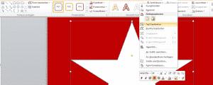 Microsoft PowerPoint 2010 Formen-Text bearbeiten