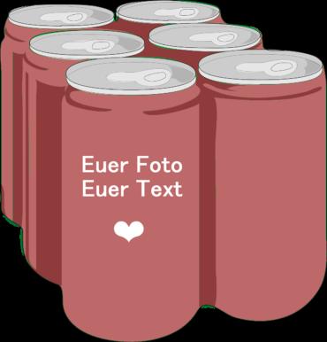 Getränkedosen bedrucken mit eigenen Fotos und eigenem Text