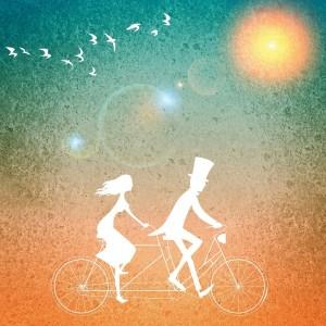 Liebe ist... Gemeinsam durchs Leben zu fahren