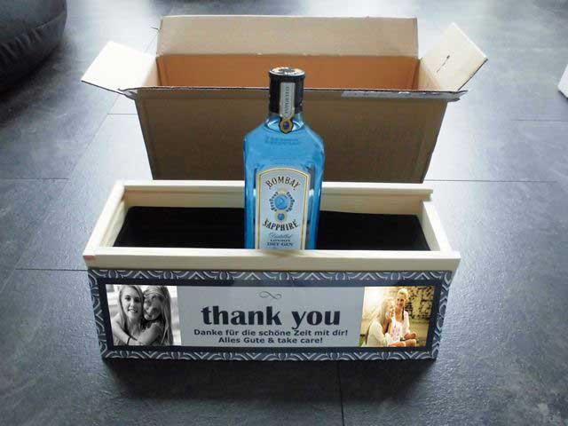 Gin Geschenk - So wird es Euch geliefert