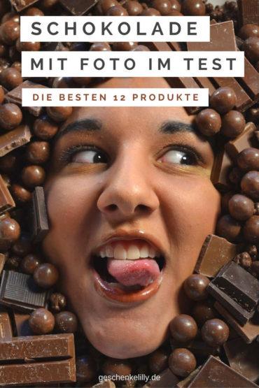 Schokolade mit Foto im Test: Die Top 12 Produkte