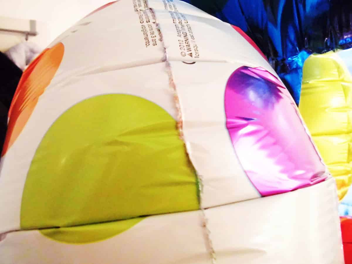 Gute Verarbeitung des Geschenkballons