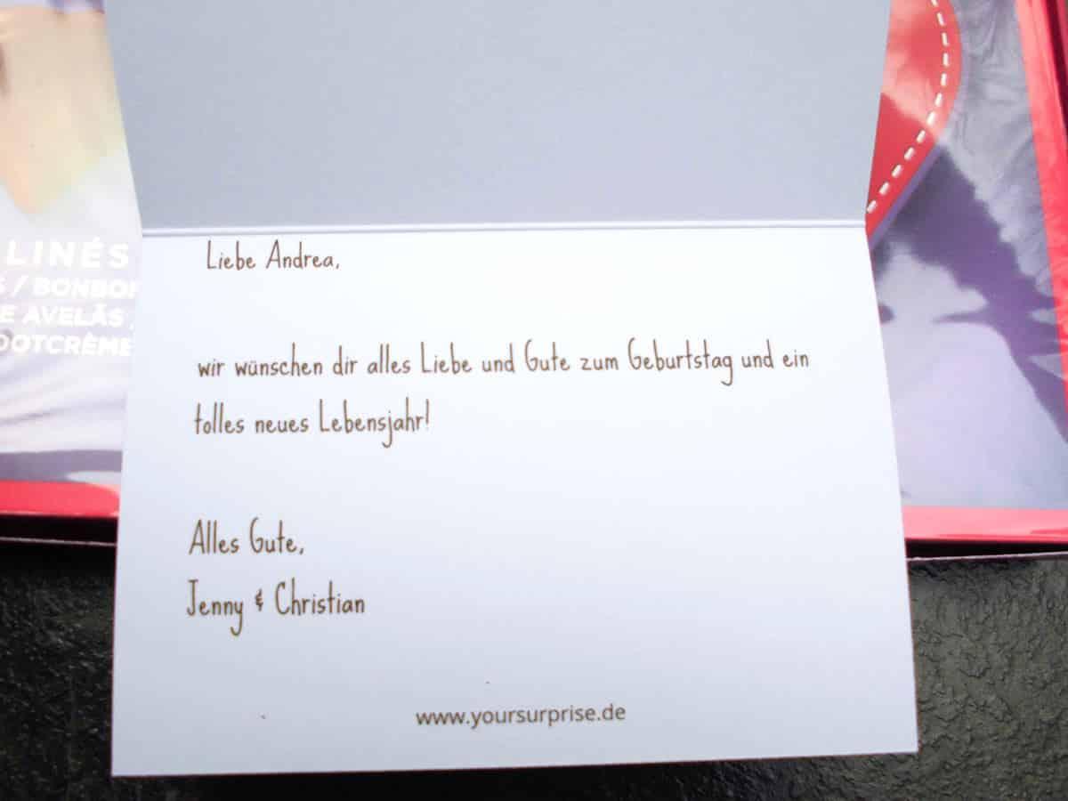 Individuell bedruckbare Glückwunschkarte zu Eurer personalisierten Milka