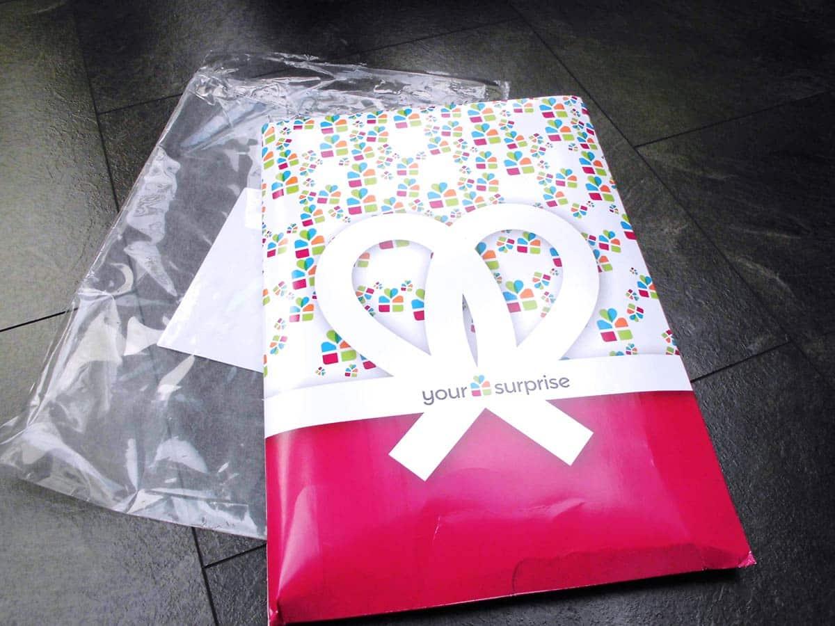 Lieferung in schöner Geschenkverpackung von yoursurprise