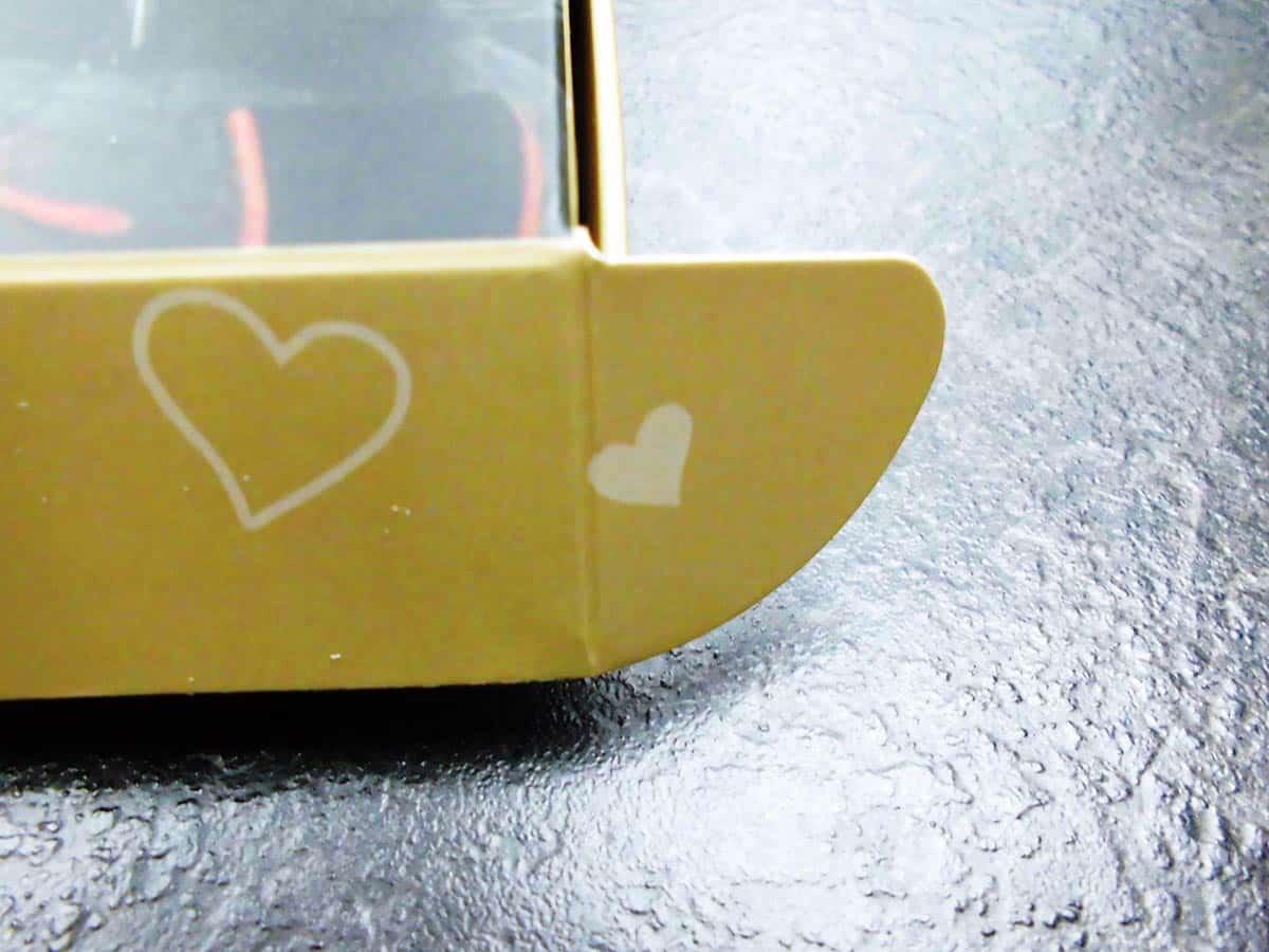 Öffnen Eurer personalisierten Milka Schokolade