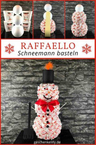 Raffaello Schneemann basteln