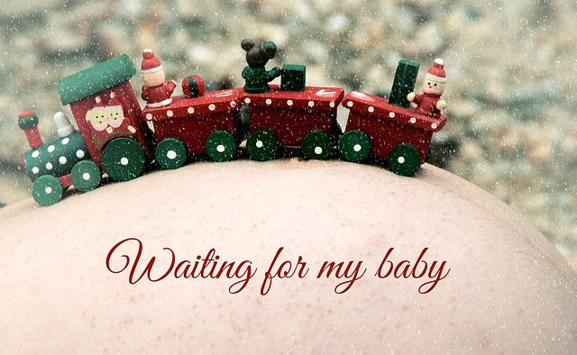 Weihnachten ist ein perfekter Anlass für Geschenke zur Schwangerschaft
