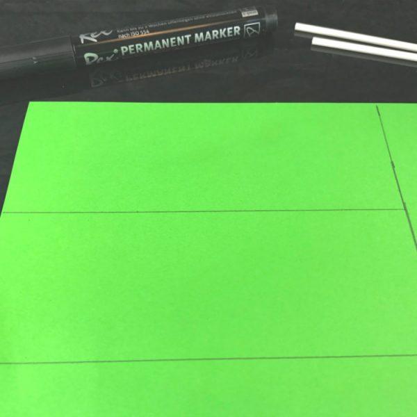 Male ein zweites Quadrat mit den selben Maßen auf